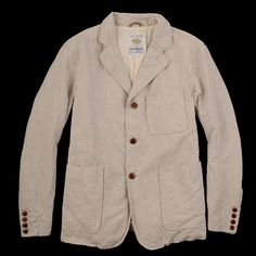 UNIONMADE - Golden Bear - Ashton Linen Blazer in Sand