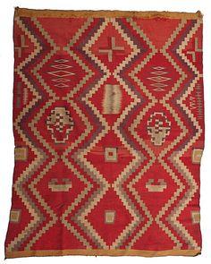 Navajo Germantown Weaving : Lot 275
