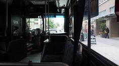 シアトル2日目。バスで移動。行き先が遠い。