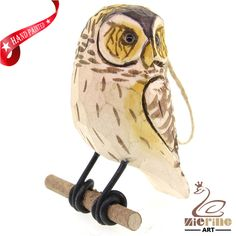 New listing! Hand-carved wooden owl painted decorative wall carvings ZR10049 #ZL #Ornament