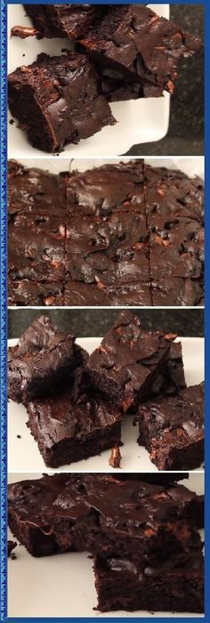The simplest and richest brownie in life. Brownie Recipes, Cake Recipes, Dessert Recipes, Cake Cookies, Cupcake Cakes, Delicious Desserts, Yummy Food, Pan Dulce, Brownie Bar