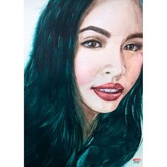 Maine Mendoza a.k.a Yaya Dub  #ALDUBMaiDenMoment @aldenrichards02 @mainedcm  #watercolor #portraiture #artistsmuseum #TalentedPeopleInc #watercolorpaintings @eatbulagadabarkads @michaelbitoy by bertoputik