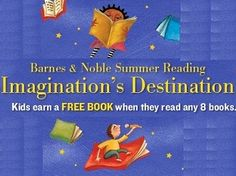 Kids can earn free books from B summer reading program