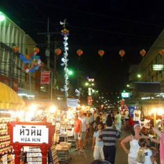 Hua Hin Night Market - is one of the most known tourist places of Hua Hin. Here, you will find choices of souvenirs, from t-shirt, postcard, handicrafts, to many other knickknacks,...