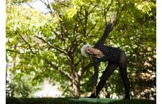 Ida Herbert, the 96-year-old yoga instructor who has been named the oldest living yoga teacher in Canada by the Guinness World Records, poses for a photo in Toronto on Thursday, August 30, 2012.
