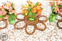 20 Rustic/Western Horseshoe Wedding by RoostersCreations on Etsy