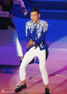 Hong Kong singer Andy Lau kicked off his 'Always Andy Lau World Tour 2013' in Taipei, Taiwan December 28, 2013