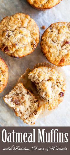 Oatmeal Muffins recipe via @simplyrecipes