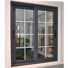 House windows pictures modern house aluminum windows style of window grills Sliding Window Design, Window Grill Design Modern, House Window Design, Sliding Windows, Door Design, Windows And Doors, House Design, Sliding Doors, Slider Window