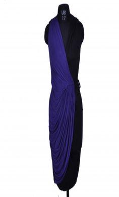 Chemistry Black & Purple Dress