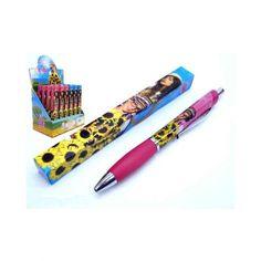 Bolígrafo con clip de Divinas y Populares, uno de los personajes más de moda de la televisión
