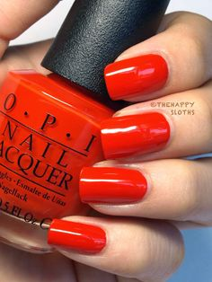 """Ford Mustang by OPI Nail Polish Collection in """"Race Red"""", """"The Sky's My Limit"""" & """"Girls Love Ponies"""": Review and Swatches"""