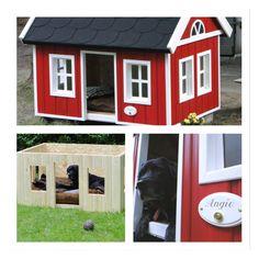 http://blogdetailliebe.com/diy-hundehutte/  Hundehütte, Schweden