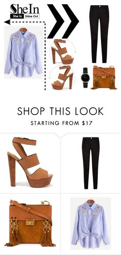 """""""Sans titre #373"""" by missbijou ❤ liked on Polyvore featuring Steve Madden, Chloé, Freedom To Exist, contest, Sheinside, contestentry and shein"""