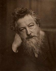 William Morris / Arquitecto, maestro textil, diseñador ingles. • Padre del arts and crafts siento que es un personaje histórico muy influyente para el diseño en general.