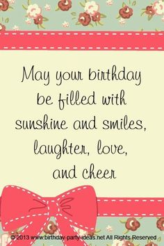 Birthday Wishes Quotes Awesome Sayings Smiles