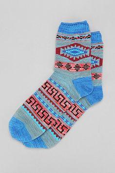 Mesa Pattern Camp Sock