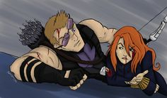 Black Widow and Hawkeye - Avengers Assemble by JupiterLightning on DeviantArt