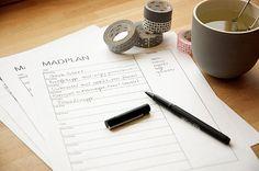 Madplan - få et godt værktøj til at planlægge jeres uges madplan - fra valdemarsro.dk