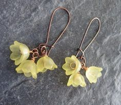spring flower earings