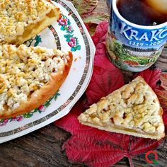 Szarlotka, torta di mele polacca | Qui da Noi Blog Bread, Blog, Brot, Blogging, Baking, Breads, Buns