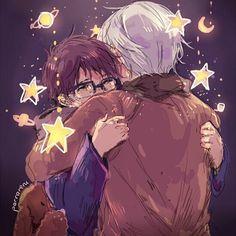 They r so cute together! WAAAAAAAAAA!!!!!!!!! ( crying tears of happiness ) ❤️