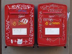 Mailboxes in Oslo Oslo, Mailbox, Mail Drop Box, Mail Boxes, Post Box