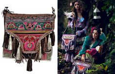 bohemian handbags, by Belgium-based brand Believes