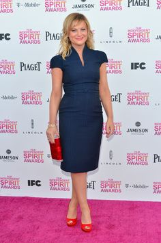 Amy Poehler in David Meister #independent #spirit #awards