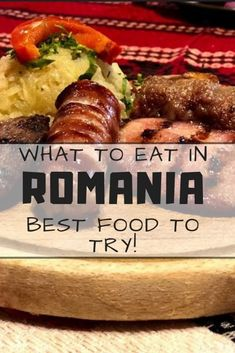 Traditional food in Romania is pretty unique. Check out the list of the best, mouth-watering Romanian desserts, soups, meat, and more. Romanian Desserts, Romanian Recipes, Turkish Recipes, Ethnic Recipes, Romanian Food Traditional, Romania Travel, Food Tasting, Vegetarian Options, Places To Eat