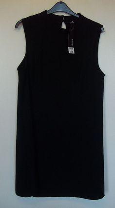 GEORGE LITTLE BLACK DRESS SIZE 20 NEW & TAGGED RRP £14 #George #CocktailDress #LittleBlackDress