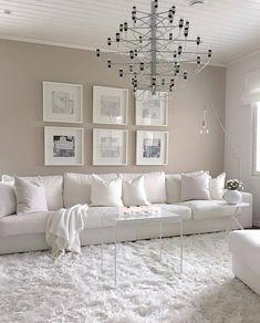 Top Home Interior Design Living Room Grey, Home Living Room, Living Room Designs, Living Room Decor, Room Interior, Home Interior Design, Room Colors, Colours, Family Room