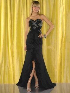 2014 Style A-line Sweet heart Beading Sleeveless Floor-length Chiffon Prom Dresses/Evening Dresses
