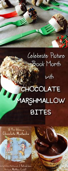 The Jersey Momma: Easy Chocolate Marshmallow Bites for Picture Book Month : Celebrating Matthew Cordell