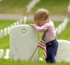 "This should be titled ""Thank You"" ... This child has a future because of the heroes buried under her feet"