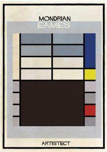 Federico Babina - Artistec, Mondrian + Eames