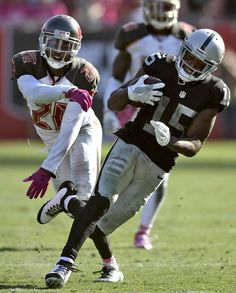 """Raiders are 'disciplined' despite NFL penalty record  They're 6-2 going into Sunday's  game against Denver for first place in the AFC West.  [...] they have possibly the hottest quarterback in the NFL in Derek Carr.  [...] that's what head coach Jack Del Rio insisted Monday in the wake of their league-record 23 penalties for 200 yards in Sunday's 30-24 win over Tampa Bay.  """"We're a disciplined team,"""" he said.  Because I know that and because I know we coach it and stress it and I know our…"""