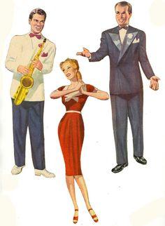 [LG but v. Glenn Miller, She Loves You, Bobe, Teaching Music, Paper Dolls, Movie Stars, Love Her, Paper Crafts, Album