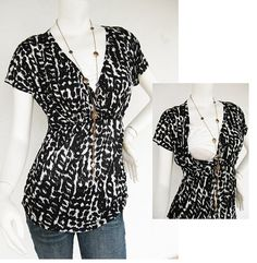 Chantel SS Nursing Top/ Breastfeeding Top /NEW Early Maternity Top/ Nursing Clothes/ Early Maternity Clothing/ FREE Shipping $32 size M