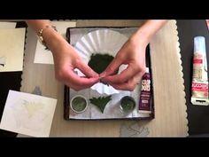 Elizabeth Craft Designs Pine Tree Die Demo