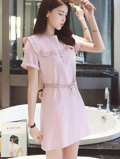 Váy dự tiệc cưới dễ thương màu hồng đầy cá tính