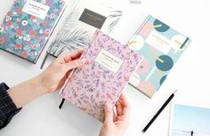 Hard Covered Ruled Notebook Ver.2 / Scrapbook Scrapbooking / Lined Notebook / 101705191 by DubuDumo on Etsy