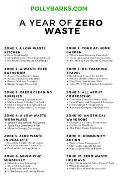 Starting a zero waste lifestyle is so hard. A year of zero waste guidance can he… Starting a zero waste lifestyle is so hard. A year of zero waste guidance can help. Find out more about how to live a low-impact, zero waste life. No Waste, Reduce Waste, Diy Utile, Diy Blog, Carbon Footprint, Green Life, Go Green, Sustainable Living, Sustainable Ideas