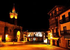 Plaza de la Constitución. Comillas #Cantabria #Spain