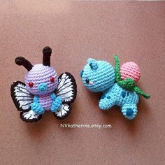 Finished Butterfree and Ivysaur from my shop queue. Shipped them to the US already   #Butterfree and #Ivysaur are both available as made-to-order in my Etsy shop nvkatherine.etsy.com (link in bio)  FREE SHIPPING WORLDWIDE!  #crochet #amigurumi #Pokemon #Nintendo #plush #plushies #toys #kawaii #chibi #freeshipping #Etsy #etsyshop #etsyseller #nvkatherine #picoftheday by nv.katherine