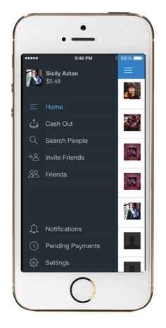 Payments 'Newsfeed' Builds Engagement  To add friends who are already on Venmo, users simply search their phone contacts and Facebook friends. To invite friends who aren't on Venmo, users choose from their contacts and a pre-populated text is sent to them with an invite link.