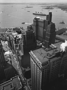 New York 1938 Photo: Berenice Abbott