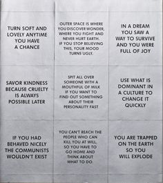 Survival Series Silver Stickers by Jenny Holzer (1983-1985)