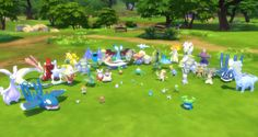 Pokemon Sets Pokemon Sets I decided to combine all of the pokemon sets onto one page. I will be finally getting to slowly replacing the pokemon with new HQ pokemon to fix all of the issues. Pokemon Sets, Cute Pokemon, Pokemon Pokemon, Pokemon Number, Sims 4 Anime, Sims 4 Cc Packs, Maxi Romper, Maxi Outfits, Sims 4 Build