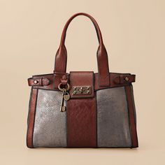 WANT. Fossil Vintage Re-Issue Large Satchel (w. many variations)